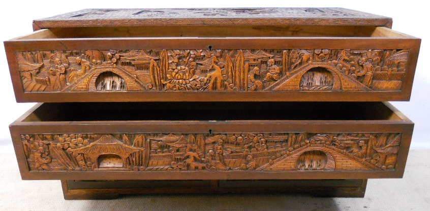Oriental Chinese Carved Camphor Wood Chest of Drawers SOLD : oriental chinese carved camphor wood chest of drawers sold 3 2664 p from www.harrisonantiquefurniture.co.uk size 846 x 416 jpeg 183kB